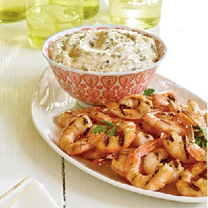 Grilled Shrimp Remoulade 